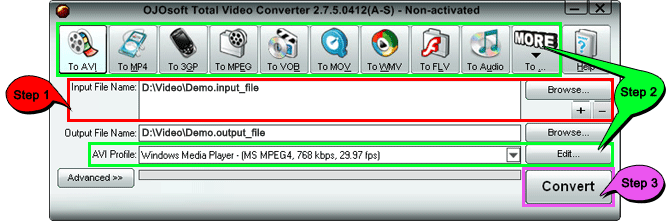 Convert AVI to MP4 - AVI to MP4 Converter Free Download